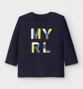 Camiseta m/l basica Mayoral