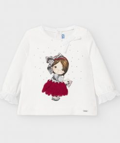 Camiseta m/l niña Mayoral