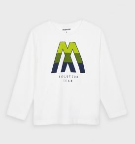 """Camiseta m/l """"M"""" Mayoral"""