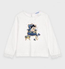 Camiseta m/l perrito Mayoral