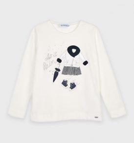 Camiseta m/l grafica Mayoral