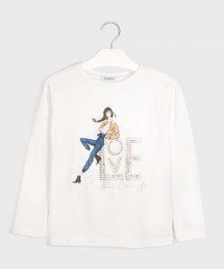 "Camiseta m/l ""love"" Mayoral"