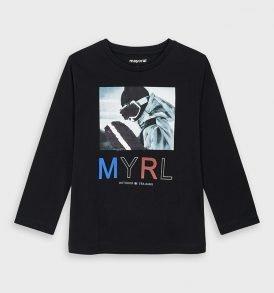 Camiseta m/l lentejuelas Mayoral