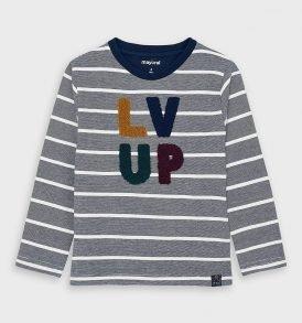 Camiseta m/l rayas Mayoral