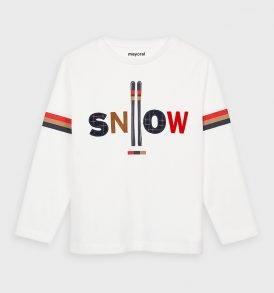 Camiseta m/l apliques Mayoral