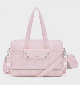 bolso lunares rosa mayoral