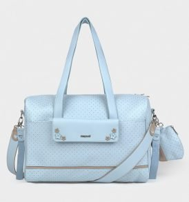 bolso lunares azul mayoral