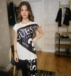 Camiseta polipiel Guess