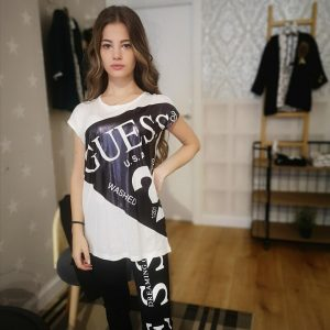 Camiseta polipiel Guess
