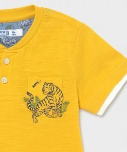 Camiseta manga corta tigre niño Mayoral