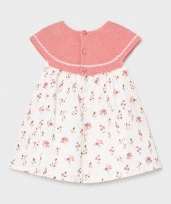 Vestido sin mangas bebe niña Mayoral