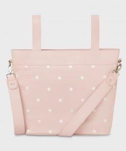 Bolsa panera estrellas rosa Mayoral