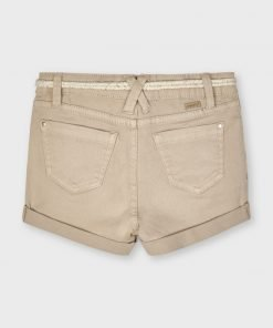 Short cinturón mini niña Mayoral