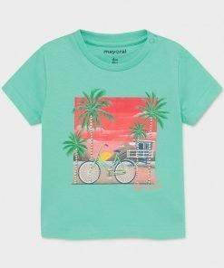 Camiseta manga corta bicicleta niño Mayoral