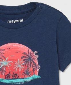 Set 2 camisetas manga corta niño Mayoral
