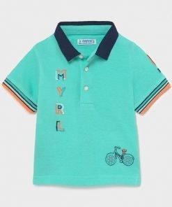 Polo manga corta bici niño Mayoral
