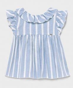 Bluson rayas azul niña Mayoral