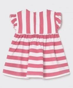 Vestido sin mangas rayas rosa bebe niña Mayoral