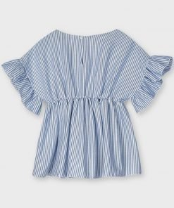 Blusón manga corta mini niña Mayoral