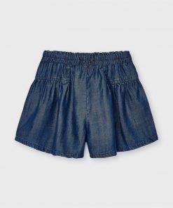 Pantalón corto fluido mini niña Mayoral