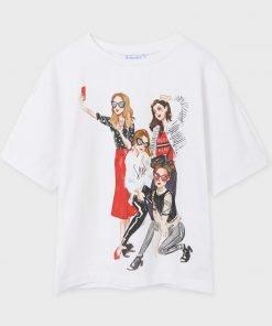 Camiseta manga corta niñas junior niña Mayoral
