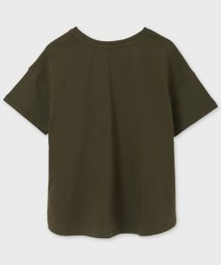 Camiseta manga corta chica junior niña Mayoral
