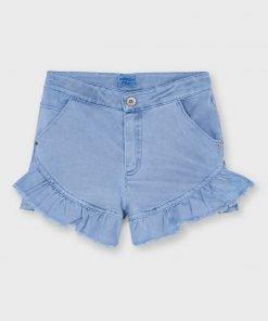 Pantalón corto volante junior niña Mayoral