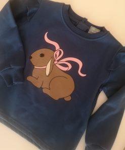 Sudadera conejos niña Mon petit bonbon