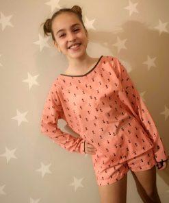 Short calaveras niña Pilar Batanero