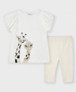conjunto jirafa niña mayoral