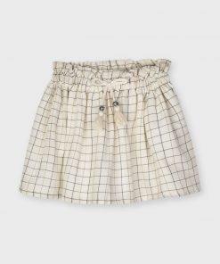 falda cuadros mini niña Myoral