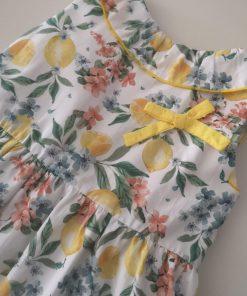 blusa limones niña baby yiro