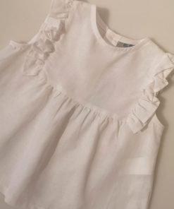 Camisa de hilo blanca Jose Varón
