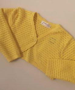 Chaqueta amarilla bebe Mayoral