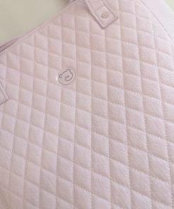 Bolsa panera Maria Pasito a Pasito rosa