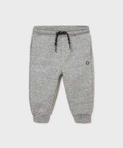 Pantalón felpa gris bebe niño Mayoral