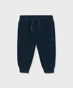 Pantalón felpa azul bebe niño Mayoral