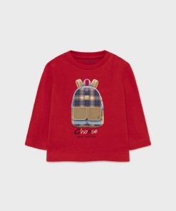 Camiseta mochila bebe niño Mayoral