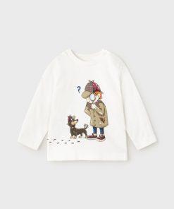 Camiseta detective bebe niño Mayoral