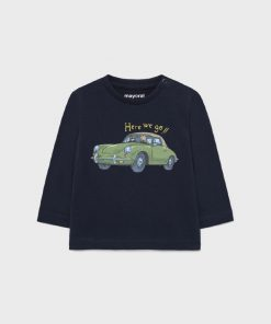 Camiseta coche bebe niño Mayoral