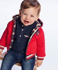 Chaqueta reversible bebe niño Mayoral