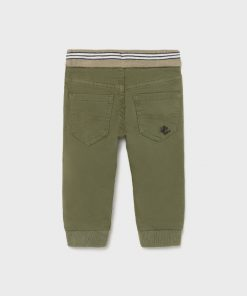 Pantalón jogger verde bebe niño Mayoral