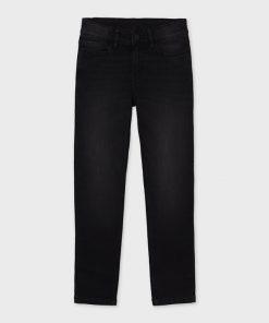 Pantalón slim fit negro junior niño Mayoral