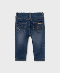 Pantalón básico medio bebe niña Mayoral