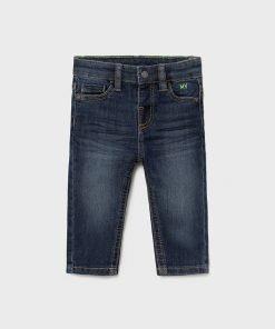 Pantalón skinny oscuro bebe niño Mayoral