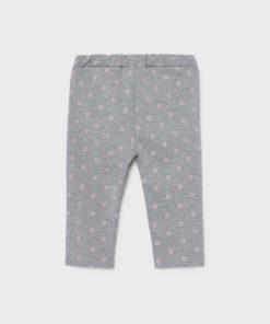 Pantalón gris bebe niña Mayoral