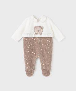 Pijama tunosado bebe niña Mayoral