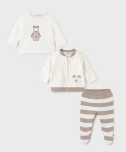 Conjunto jersey y polaina cielo para bebe niño de la firma Mayoral colección otoño-invierno 2021-2022.