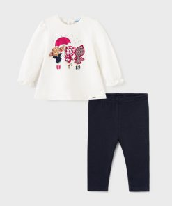 Conjunto leggings bebe niña Mayoral