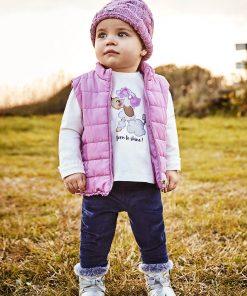 Conjunto leggings chaleco bebe niña Mayoral